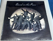 Wings Band on The Run 1st Press Excellent Vinyl Record LP 1 C 062 05 503 +poster