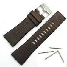 Diesel Genuine Original Watch Strap Real Leather S/Steel Buckle for DZ4138