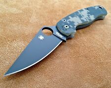 Spyderco Paramilitary 2 C81GPCMOBK2 Black Plain Edge  Digi Camo S30V  Authentic