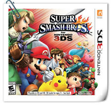 3DS Nintendo SUPER SMASH BROS. FOR NINTENDO 3DS Nintendo Action