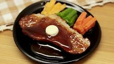Food sample  magnet Sirloin steak japanese cute present japan