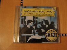 Paganini For Two (Shaham / Sollscher) Gold Audiophile CD SEALED DG