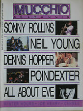 MUCCHIO 126 1988 Sonny Rollins Neil Young Buster Poindexter Dennis Hopper Henry