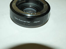 NEW 1.5X AUTO VIVITAR TELECONVERTER LENS for CONTAX and YASHICA SLR CAMERAS