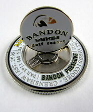 PAC GOLF NCAA METAL POKER CHIP Mondomark Ball Mark Ballmark BANDON DUNES Pacific