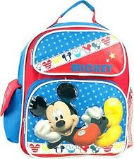 "Mickey Mouse School 10"" Backpack Back Pack by Disney-New with Tags!!"