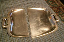 Vintage Chrome Table Crumb Scrapers Butler Sweep