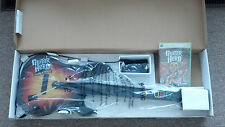 NEW Xbox 360 Guitar Hero World Tour Wired Guitar & GH Aerosmith Bundle Kit RARE