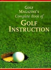 Golf Magazine's Complete Book of Golf Instruction Peper, George Hardcover