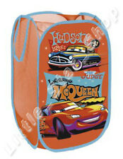 Disney Pixar CARS Boy Kids Bedroom Pop Up Foldable Toys Storage Washing Basket