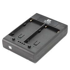 Nanguang CN-15V Battery Adaptor: 2x Sony NP-F Series to V-Lock for LED Panel etc