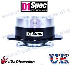 D1 SPEC UNIVERSAL RACING PADDLE STEERING WHEEL QUICK-RELEASE SV/BLACK JDM DRIFT