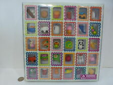Office Depot Mini Eraser Puzzles 30 pc. Set Kids Collecible, Toy,Gift New in Box
