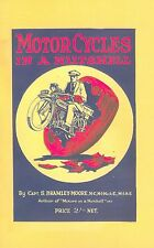 Vintage Motorcycle Book Motor Cycles in a Nutshell 1923 Scott Triumph Ariel JAP