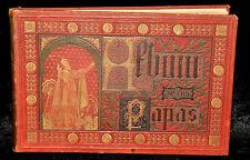 ÁLBUM DE LOS PAPAS. EDITORIAL LA AURORA. 1885