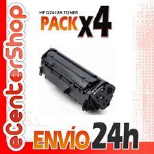4 Toners Compatibles HP Q2612A NON-OEM para HP Laserjet 1018
