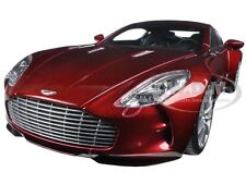 ASTON MARTIN ONE 77 DIAVOLO RED 1/18 DIECAST CAR MODEL BY AUTOART 70245