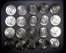 GORGEOUS ROLL OF 20 UNCIRCULATED 1921 MORGAN SILVER DOLLARS