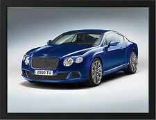 BENTLEY CONTINENTAL GT STUDIO NEW A3 FRAMED PHOTOGRAPHIC PRINT POSTER