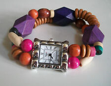 Trend's  Women's Colorful Band Style Fashion candy colors  Watch