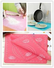 XI CA Silicone Rolling Cut Mat Fondant Clay Pastry Icing Dough Cake Tool