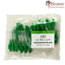 Tepe Interdental Brushes Green 0.8mm 25 PACK With caps Dental Care