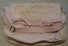 Abercrombie & Fitch Distressed Pink Canvas Shoulder/Crossbody/Messenger Bag