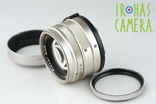 Carl Zeiss Contax G Planar T* 45mm F/2 Lens for G1 G2 #9699A1