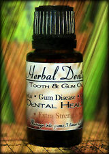 Herbal Dentist Extra Strength - Dr & Dentist Approved Gum Disease Remedy!