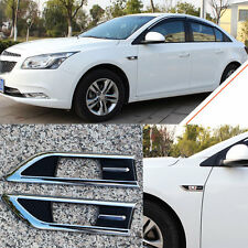 For Chevrolet Cruze 2014-2016 Lappet Fender Turn Signal Side Lamp Trim Decorate