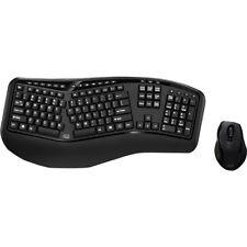 Adesso Tru-Form Media 1500 - Wireless Ergonomic Keyboard & Laser Mouse