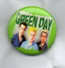 GREEN DAY - BUTTON BADGE - AMERICAN PUNK ROCK BAND - DOOKIE AMERICAN IDIOT 25mm
