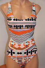 NWT VOLCOM Swimsuit 1 one piece swimwear sz L MLT