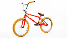 "FIT 2017 DUGAN 1 ORANGE-RED (LSD) 20"" FIT BMX BIKE +DVD +SHIP SE KINK SUNDAY GT"