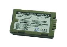 Battery for Panasonic CGR-D08SE/ 1B NV-DS55 NV-MX3EN PV-DV600 PV-DV600K NV-DS33
