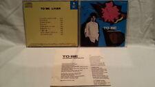 TASUHIKO YAMAMOTO To Be CD JAPAN CA32-1213 1987  s1461