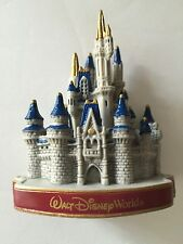 disney walt disney world magic kingdom cinderella castle plastic magnet new