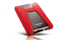 "1TB 2,5"" Portable Hard Drive HD650 ADATA DashDrive External Hard Drive Red"