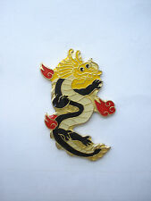 99p SALE RARE VINTAGE DRAGON POWER STRENGTH SIGN TATTOO YAKUZA ENAMEL PIN BADGE
