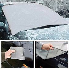 Magnetic Car WINDSCREEN COVER Frost Ice Shield Snow Protector Sun Shade 100x165
