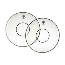 """Remo 14"""" Clear Powerstroke 77 Batter Drumhead w/ Clear Dot"""