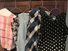 NWT Lot Of 6 Women's Xs Small Blouses Tops Shirts Sweaters Talbots Gap Old Navy