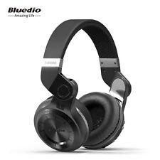 NEW BLUEDIO Bluetooth 4.1 Headsets Turbine T2 Wireless Stereo Headphones, Black