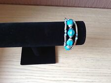 Turquoise  Disco Ball Magnetic Bracelet Cuff
