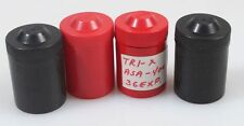 FILM CASES, SET OF 4, 2 BLACK AND 2 RED