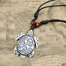 cool man Hawaii Tribal style Surfing turtles Pendant Necklace RH134