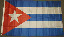 3X5 CUBA FLAG CUBAN FLAGS CARRIBEAN NEW BANNER F102