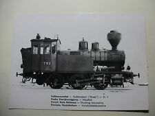 FIN22 - VR FINNISH STATE RAILWAYS - STEAM LOCOMOTIVE No792 POSTCARD Finland