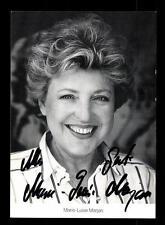 Marie Luise Marjan Lindenstraße Autogrammkarte Original Signiert # BC 82346