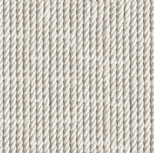 Rope Styled Effect Modern Vinyl Knotted Lined Cream/Grey Direct Wallpapers